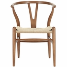 Modway Amish Dining Wood Armchair in Walnut MY-EEI-552-WAL