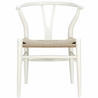 Modway Amish Dining Wood Armchair in White MY-EEI-552-WHI