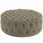 Modway Amour Upholstered Fabric Ottoman in Oatmeal MY-EEI-2225-OAT
