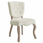 Modway Array Vintage French Dining Side Chair in Ivory MY-EEI-2880-IVO