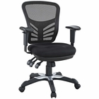 Modway Articulate Mesh Office Chair in Black MY-EEI-757-BLK