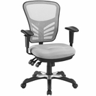 Modway Articulate Mesh Office Chair in Gray MY-EEI-757-GRY