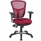 Modway Articulate Mesh Office Chair in Red MY-EEI-757-RED
