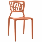 Modway Astro Dining Side Chair in Orange MY-EEI-1706-ORA