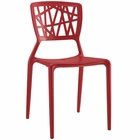 Modway Astro Dining Side Chair in Red MY-EEI-1706-RED