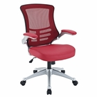 Modway Attainment Mesh Office Chair in Red MY-EEI-210-RED