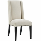 Modway Baron Parsons Upholstered Fabric Dining Side Chair in Beige MY-EEI-2233-BEI