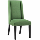 Modway Baron Parsons Upholstered Fabric Dining Side Chair in Kelly Green MY-EEI-2233-GRN