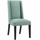 Modway Baron Parsons Upholstered Fabric Dining Side Chair in Laguna MY-EEI-2233-LAG