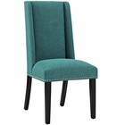 Modway Baron Parsons Upholstered Fabric Dining Side Chair in Teal MY-EEI-2233-TEA