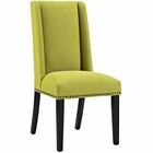 Modway Baron Parsons Upholstered Fabric Dining Side Chair in Wheatgrass MY-EEI-2233-WHE