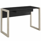 Modway Become Wood Writing Desk in Natural Black MY-EEI-2785-NAT-BLK