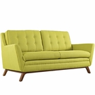 Modway Beguile Upholstered Fabric Loveseat in Wheatgrass MY-EEI-1799-WHE