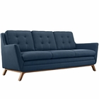 Modway Beguile Upholstered Fabric Sofa in Azure MY-EEI-1800-AZU