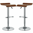 Modway Bentwood Bar Stools Set of 2 in Oak MY-EEI-936-OAK