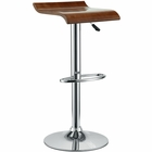 Modway Bentwood Wood Grain Bar Stool in Oak MY-EEI-578-OAK