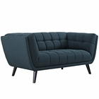 Modway Bestow Upholstered Fabric Loveseat in Blue MY-EEI-2534-BLU
