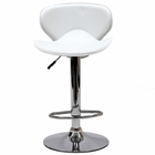 Modway Booster Faux Leather Bar Stool in White MY-EEI-580-WHI