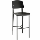 Modway Cabin Bar Stool in Black Black MY-EEI-1468-BLK-BLK