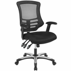 Modway Calibrate Mesh Office Chair in Black MY-EEI-3042-BLK