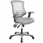 Modway Calibrate Mesh Office Chair in Gray MY-EEI-3042-GRY
