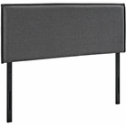 Modway Camille King Upholstered Fabric Headboard in Gray MY-MOD-5408-GRY