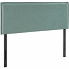 Modway Camille King Upholstered Fabric Headboard in Laguna MY-MOD-5408-LAG