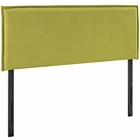 Modway Camille King Upholstered Fabric Headboard in Wheatgrass MY-MOD-5408-WHE
