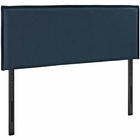 Modway Camille Queen Upholstered Fabric Headboard in Azure MY-MOD-5407-AZU