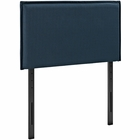 Modway Camille Twin Upholstered Fabric Headboard in Azure MY-MOD-5405-AZU