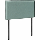 Modway Camille Twin Upholstered Fabric Headboard in Laguna MY-MOD-5405-LAG