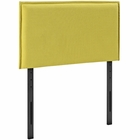 Modway Camille Twin Upholstered Fabric Headboard in Sunny MY-MOD-5405-SUN