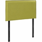 Modway Camille Twin Upholstered Fabric Headboard in Wheatgrass MY-MOD-5405-WHE