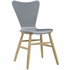 Modway Cascade Wood Dining Chair in Gray MY-EEI-2672-GRY