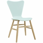 Modway Cascade Wood Dining Chair in Light Blue MY-EEI-2672-LBU