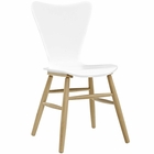 Modway Cascade Wood Dining Chair in White MY-EEI-2672-WHI