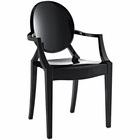 Modway Casper Dining Armchair in Black MY-EEI-121-BLK