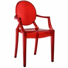 Modway Casper Dining Armchair in Red MY-EEI-121-RED