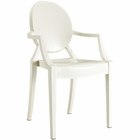 Modway Casper Dining Armchair in White MY-EEI-121-WHI