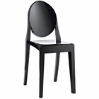 Modway Casper Dining Side Chair in Black MY-EEI-122-BLK