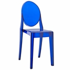 Modway Casper Dining Side Chair in Blue MY-EEI-122-BLU