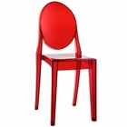 Modway Casper Dining Side Chair in Red MY-EEI-122-RED