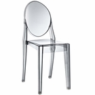 Modway Casper Dining Side Chair in Smoked Clear MY-EEI-122-SMK