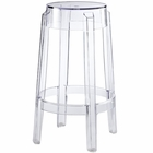 Modway Casper Transparent Counter Stool in Clear MY-EEI-171-CLR