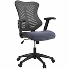 Modway Clutch Mesh Office Chair in Gray MY-EEI-209-GRY