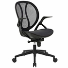 Modway Conduct Mesh Office Chair in Black MY-EEI-2772-BLK