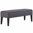 Modway Connect Upholstered Fabric Bench in Gray MY-EEI-2556-GRY