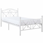 Modway Cottage Twin Iron Bed in White MY-EEI-799