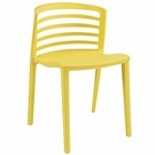 Modway Curvy Dining Side Chair in Yellow MY-EEI-557-YLW