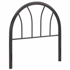 Modway Damaris Twin Steel Headboard in Brown MY-MOD-5538-BRN